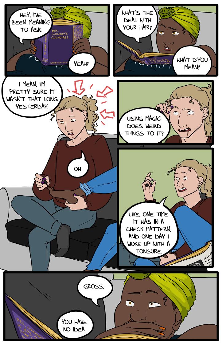 Filler Comic 001 - Hair
